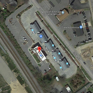Satellite view of our location